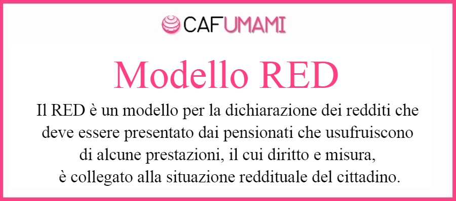 Modello RED