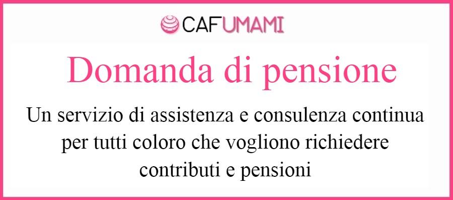 Domande di pensione